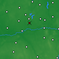 Nearby Forecast Locations - Słupca - Map