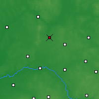 Nearby Forecast Locations - Zambrów - Map