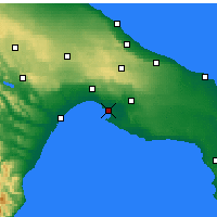 Nearby Forecast Locations - Taranto - Map