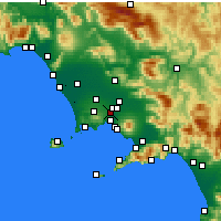 Nearby Forecast Locations - Casoria - Map