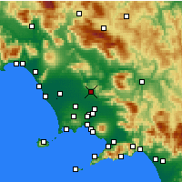 Nearby Forecast Locations - Caserta - Map
