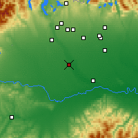 Nearby Forecast Locations - Vigevano - Map