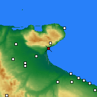 Nearby Forecast Locations - Manfredonia - Map