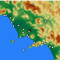 Nearby Forecast Locations - Acerra - Map