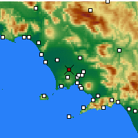 Nearby Forecast Locations - Aversa - Map