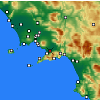 Nearby Forecast Locations - Scafati - Map