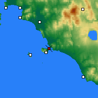 Nearby Forecast Locations - Orbetello - Map