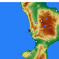 Nearby Forecast Locations - Amantea - Map