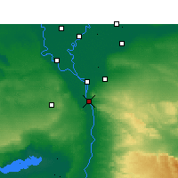 Nearby Forecast Locations - Maadi - Map