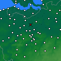 Nearby Forecast Locations - Lokeren - Map