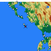 Nearby Forecast Locations - Gaios - Map