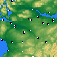 Nearby Forecast Locations - Kilsyth - Map