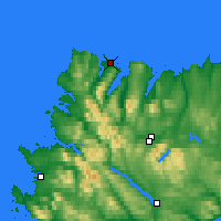 Nearby Forecast Locations - Durness - Map