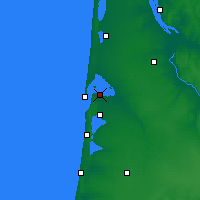 Nearby Forecast Locations - Arcachon - Map