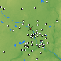 Nearby Forecast Locations - Champlin - Map