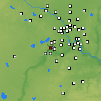 Nearby Forecast Locations - Chanhassen - Map