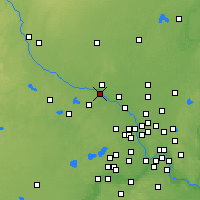 Nearby Forecast Locations - Otsego - Map
