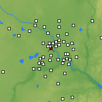 Nearby Forecast Locations - Robbinsdale - Map