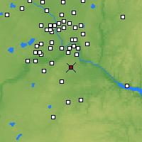 Nearby Forecast Locations - Rosemount - Map