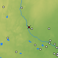 Nearby Forecast Locations - Sauk Rapids - Map