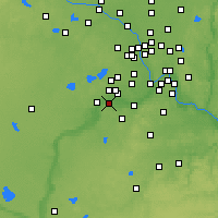 Nearby Forecast Locations - Shakopee - Map