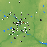 Nearby Forecast Locations - Shoreview - Map