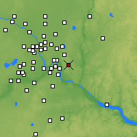 Nearby Forecast Locations - Woodbury - Map