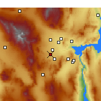 Nearby Forecast Locations - Enterprise - Map