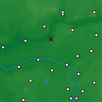 Nearby Forecast Locations - Czarnków - Map