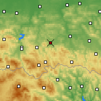 Nearby Forecast Locations - Gorlice - Map