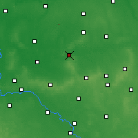 Nearby Forecast Locations - Milicz - Map