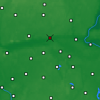 Nearby Forecast Locations - Nakło nad Notecią - Map