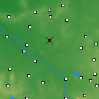 Nearby Forecast Locations - Namysłów - Map