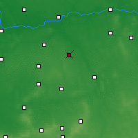 Nearby Forecast Locations - Pleszew - Map