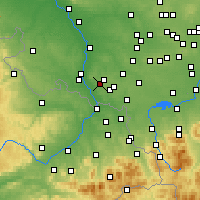 Nearby Forecast Locations - Rydułtowy - Map