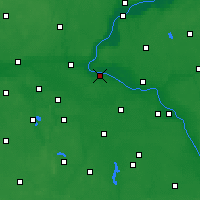 Nearby Forecast Locations - Solec Kujawski - Map