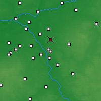 Nearby Forecast Locations - Sulejówek - Map