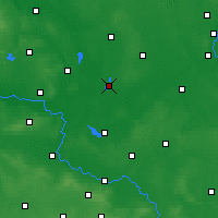 Nearby Forecast Locations - Wolsztyn - Map