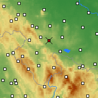 Nearby Forecast Locations - Ząbkowice Śląskie - Map