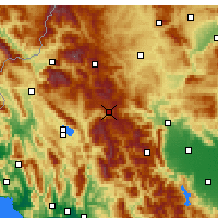 Nearby Forecast Locations - Metsovo - Map