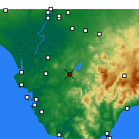 Nearby Forecast Locations - Arcos de la Frontera - Map