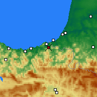 Nearby Forecast Locations - Irun - Map