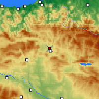 Nearby Forecast Locations - Barañáin - Map