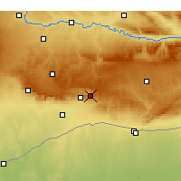 Nearby Forecast Locations - Yeşilli - Map