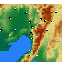 Nearby Forecast Locations - Erzin - Map