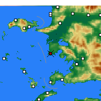 Nearby Forecast Locations - Didim - Map