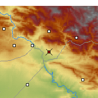 Nearby Forecast Locations - Silopi - Map