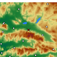 Nearby Forecast Locations - Salihli - Map