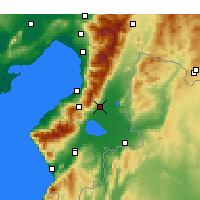 Nearby Forecast Locations - Kırıkhan - Map