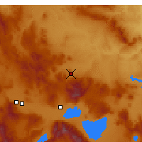 Nearby Forecast Locations - Emirdağ - Map